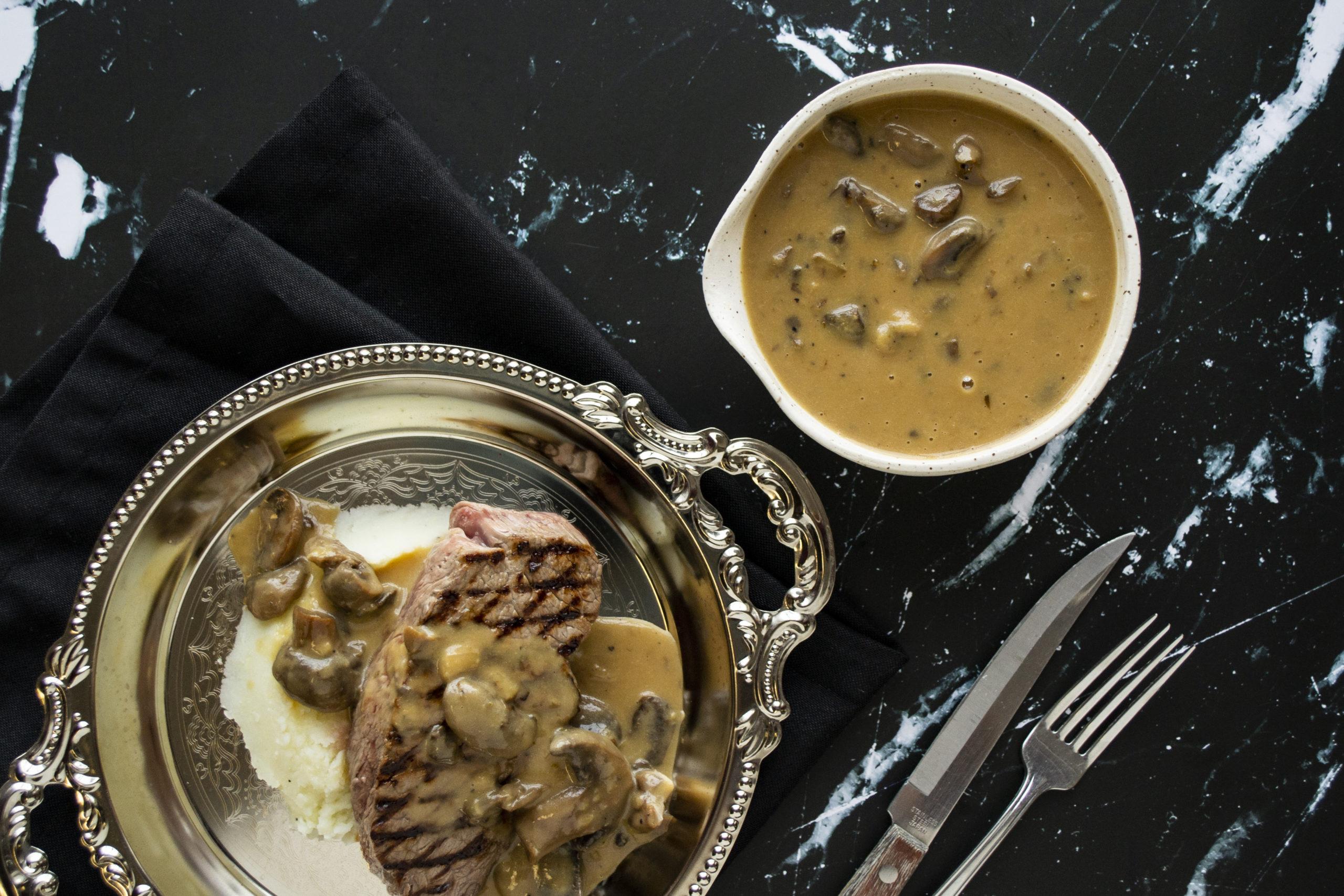 Sauce aux champignons - Ferme Simard